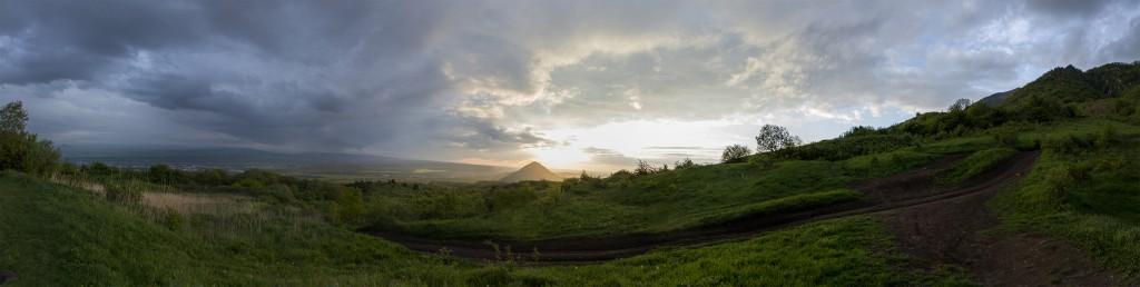 Город Пятигорск. Фото панорамы.