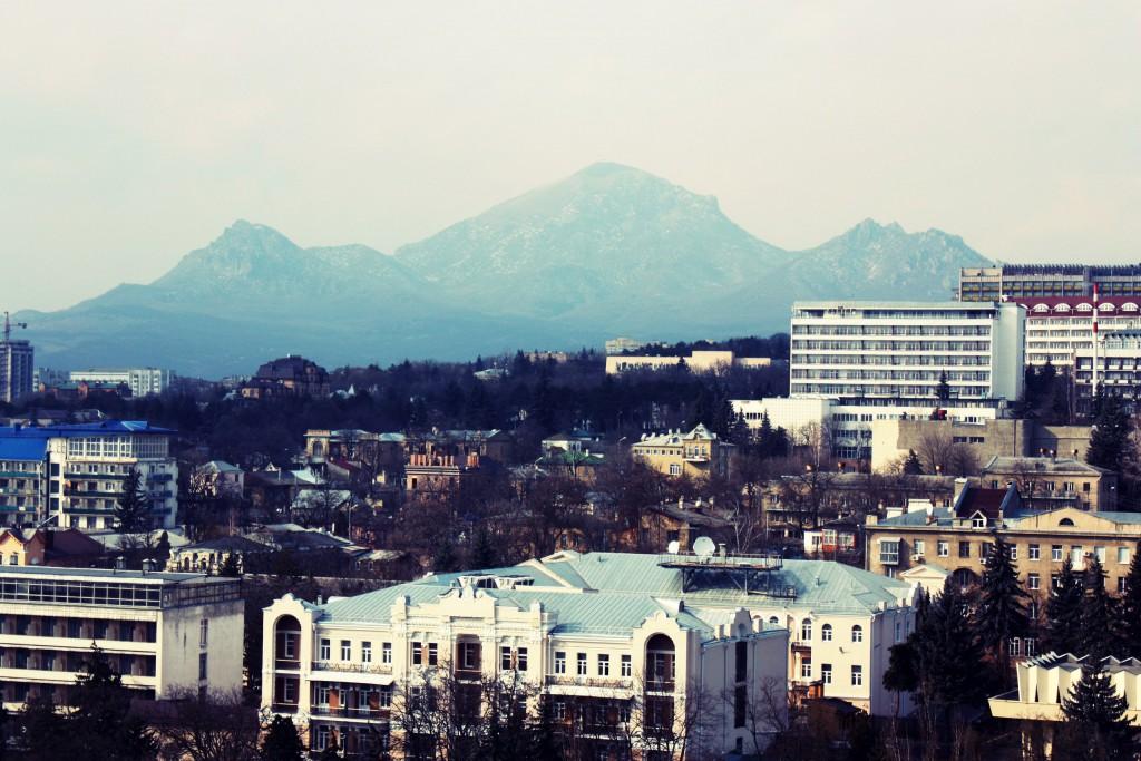 Гора Бештау, город Пятигорск, осень. Фотограф:  Елизавета Салиева.