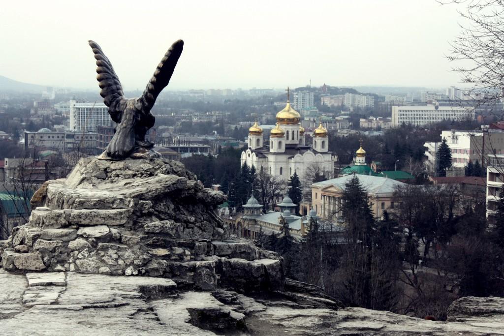 Пятигорский орел, скульптура, статуя